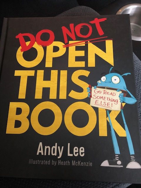 Do Not Open This Book, by Andy Lee