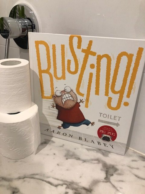 Busting! by Aaron Blabey - Book Review