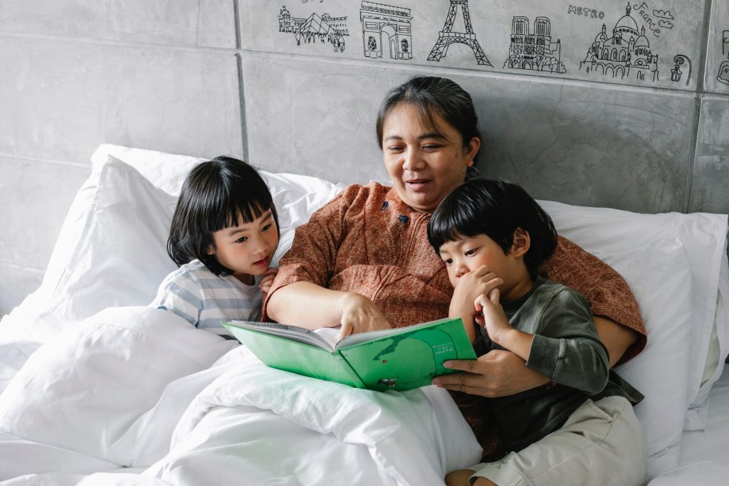 bed storytime